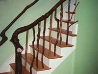 Maple railing
