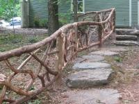 rustic rail